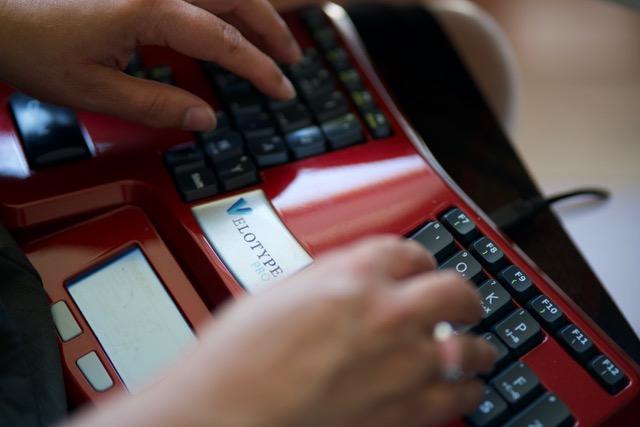 Het Velotype toetsenbord